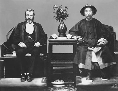 1879 Photograph - Ulysses S. Grant Visits China by Underwood Archives