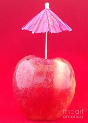 Photograph - Um -- Apple by Barbie Corbett-Newmin