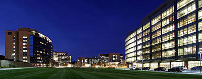 Western Ma Photograph - Umass Memorial Medical Center  by Juergen Roth