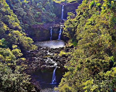 Photograph - Umauma Falls IIi by Patricia Griffin Brett