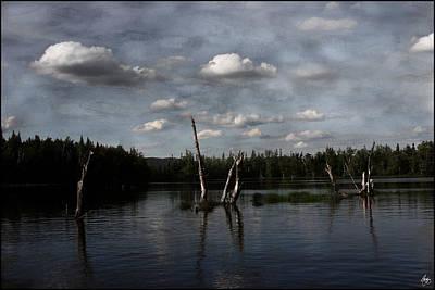 Photograph - Painted Skies Over Umbagog by Wayne King