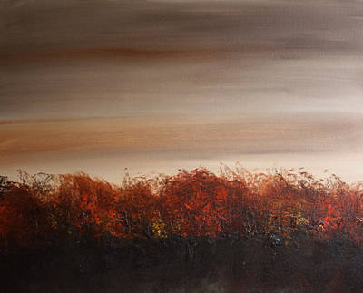 Painting - Umber Series #1 by William Renzulli