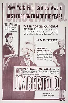 Umberto D., L-r Maria Pia Casilio Art Print by Everett