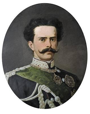 Umberto I Of Italy 1844-1900. King Print by Everett