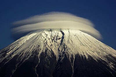 Fuji Mountain Photograph - Umbrella by Akihiro Shibata