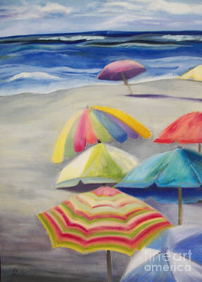 Painting - Umbrella Day by Joanne Killian