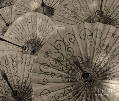 Hand Made Photograph - Umbrella Hand Made Beauty 1 by Bob Christopher