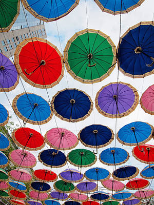Photograph - Umbrella Sky by Robert Watson