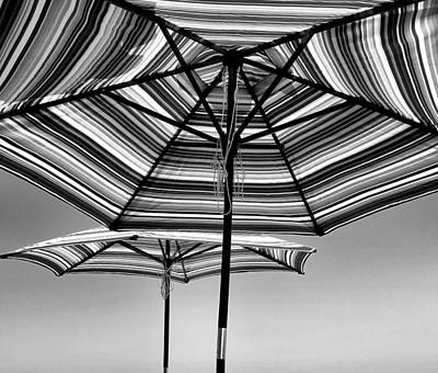 Photograph - Umbrella's In The Sun by Michael Hope