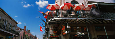 Big Easy Photograph - Umbrellas On A Restaurant, Big Easy Off by Panoramic Images