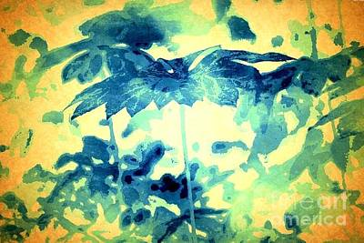 Photograph - Umbrellatree by Denise Tomasura