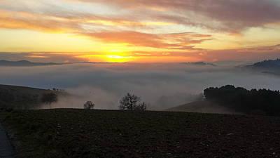 Photograph - Umbria Sunset by Francois Dumas