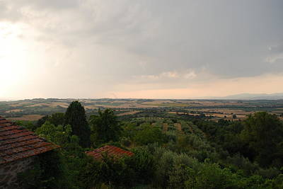 Umbrian View 2 Art Print by Dorothy Berry-Lound