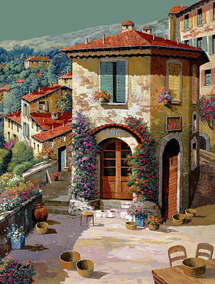 Royalty-Free and Rights-Managed Images - Un Cielo Verdolino by Guido Borelli