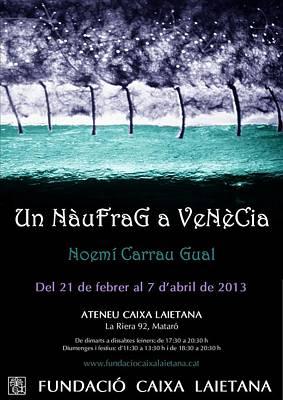 Un Naufrag A Venezia - Mostra Art Jove - Febrer 2013 Mataro - Barcelona Art Print by Arte Venezia