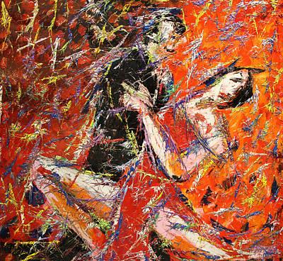 Un Tango A Colori Original by Enrico Nicodemo