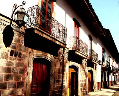 Photograph - Una Calle De Patzcuaro by Robert  Rodvik