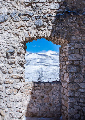 A Window On The World Art Print by Andrea Mazzocchetti