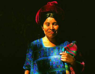 Photograph - Una Mujer De Sta Catarina by Robert  Rodvik