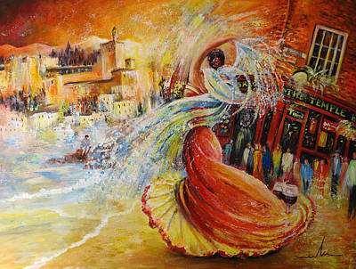 Painting - Una Vida by Miki De Goodaboom