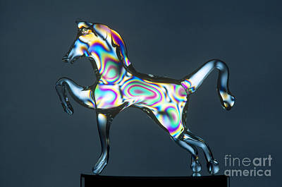 Glasswork Photograph - Unannealed Glass by James L. Amos