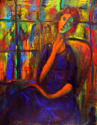 Painting - Unawares II by Marina R Burch