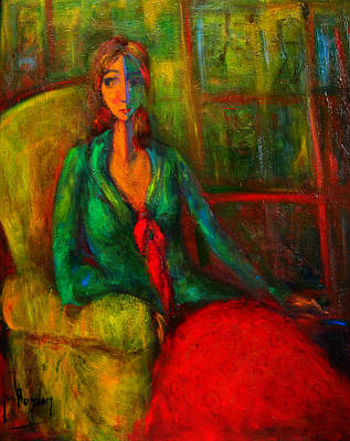 Painting - Unawares by Marina R Burch