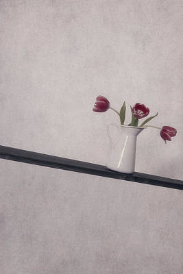 Unbalanced Flowers Print by Joana Kruse