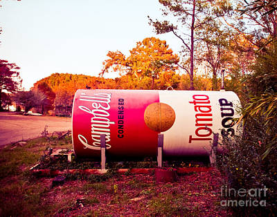 Pop Can Photograph - Uncertain Warhol by Sonja Quintero