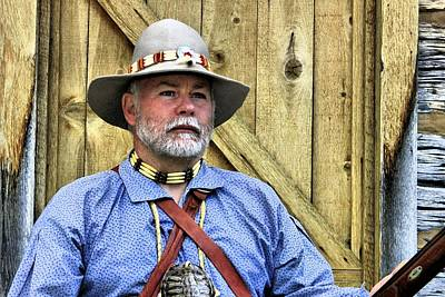 Mountainmen Photograph - Uncle Blake by Roxie Crouch