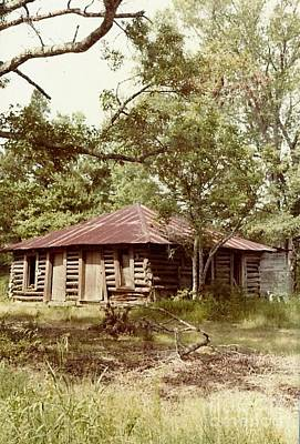 Uncle Toms Cabin Brookhaven Mississippi Art Print by Michael Hoard