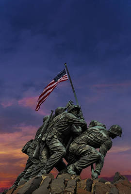 Photograph - Uncommon Valor Was A Common Virtue by Susan Candelario
