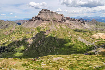 Photograph - Uncompahgre Peak 2 by Aaron Spong