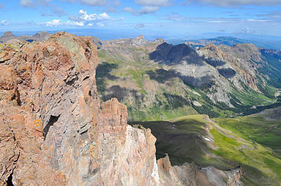 Photograph - Uncompahgre Peak Summit by Aaron Spong