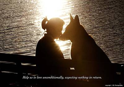 Unconditional Love Art Print