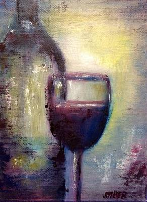 Painting - Uncorked by Kathy Stiber