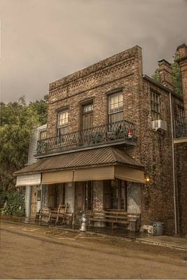 Saloon Photograph - Under The Hill Saloon by Ron  Burt