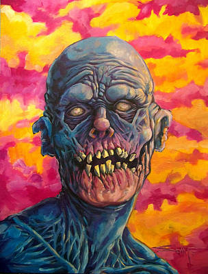 Candy Painting - Undead Fred by Seth Michael