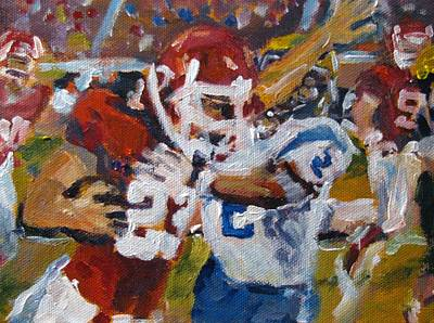 Franklin Tennessee Painting - Undefeated by Susan E Jones