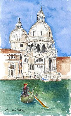 Undeniably Venice Art Print
