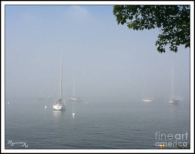 Photograph - Under A Blanket Of Fog by Mariarosa Rockefeller