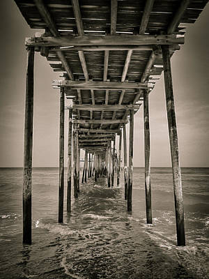 Photograph - Under Avon Pier by Dave Hall