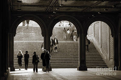 Newyork08 Photograph - Under Bethesda Terrace by RicardMN Photography
