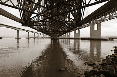 Solano County Photograph - Under Bridges by Donna Blackhall