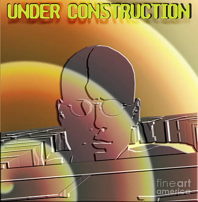 Under Construction Art Print