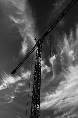 Under Construction Art Print by Miguel Winterpacht