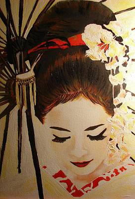 Under Cover Girl Art Print by Lorinda Fore
