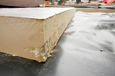 Flooring Photograph - Under Floor Insulation by Ashley Cooper