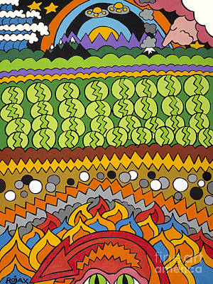 Under Foot Art Print by Rojax Art