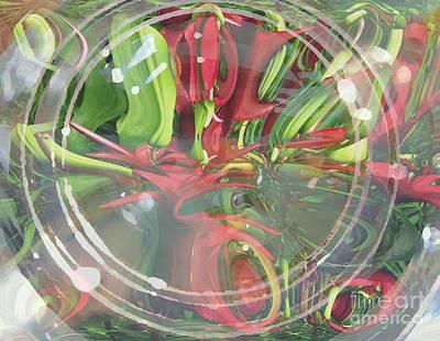 Under Glass Art Print by Kathie Chicoine